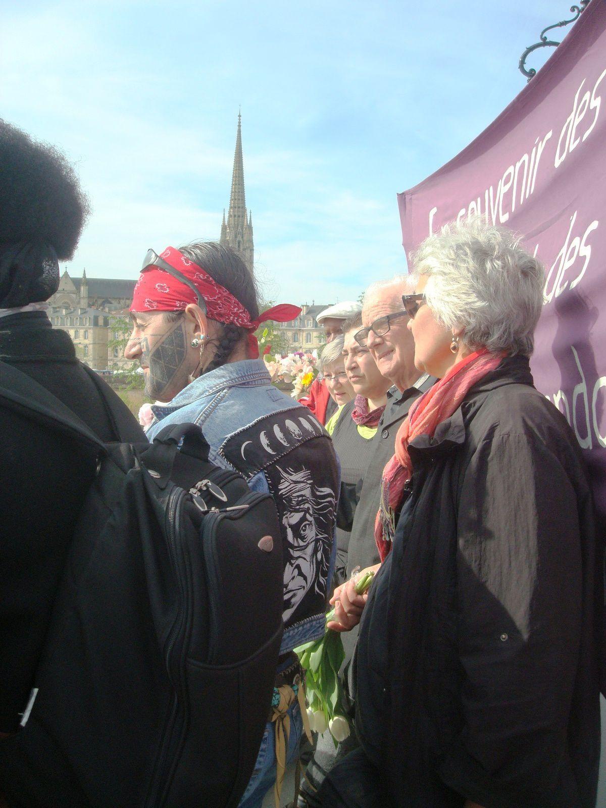 20ème Commémoration 7/04/2014, Bordeaux.