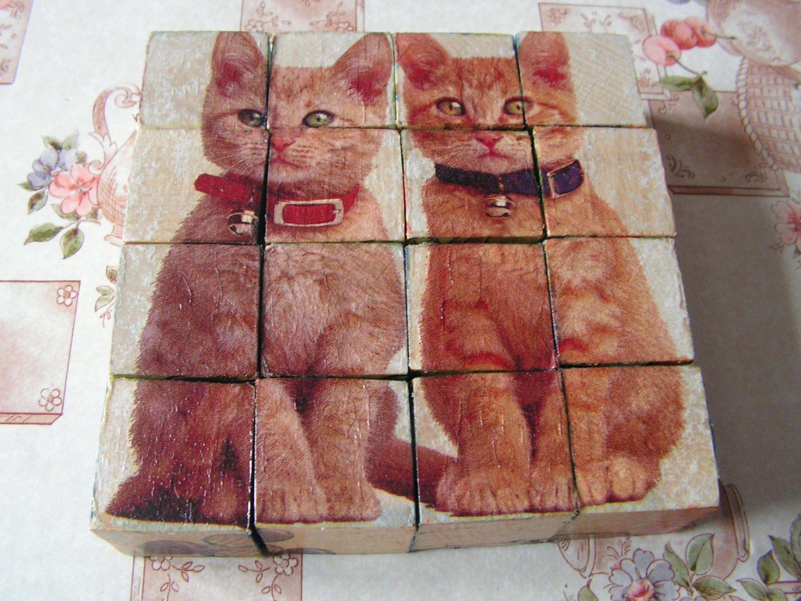 Cubes en bois n° 2