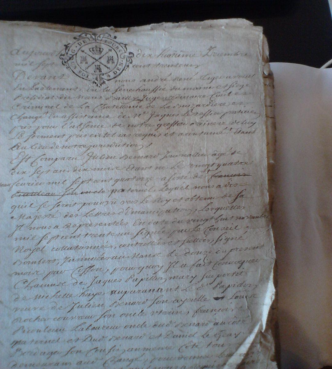 (4E 59 418) du notaire Montarou julien