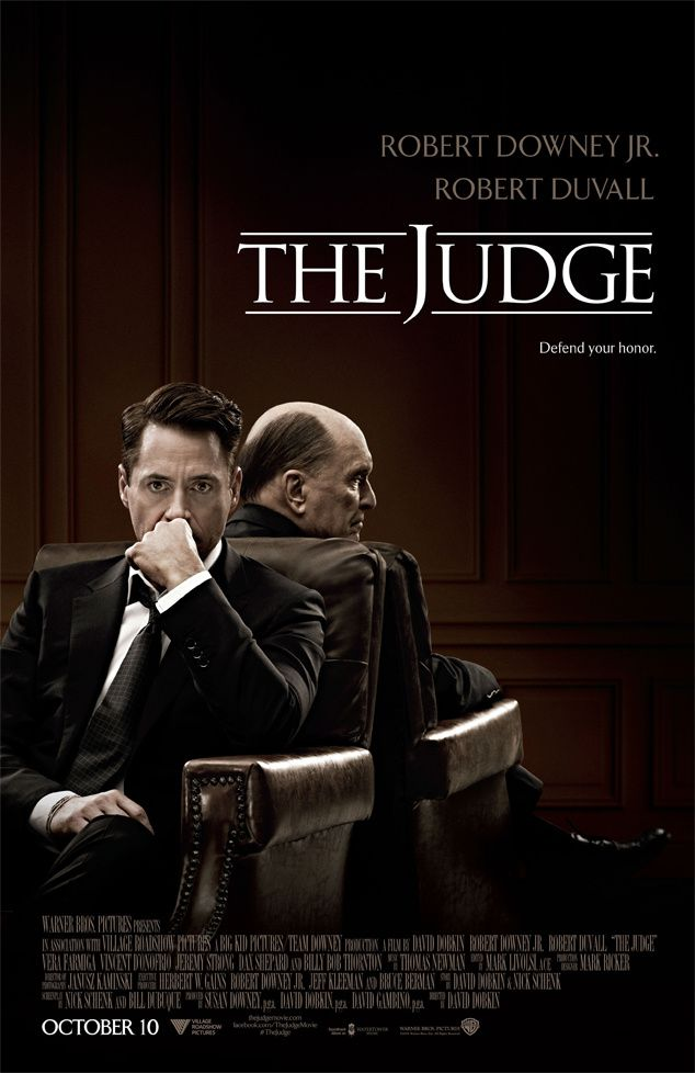 &quot&#x3B;THE JUDGE : 1er TRAILER &quot&#x3B; !!!!