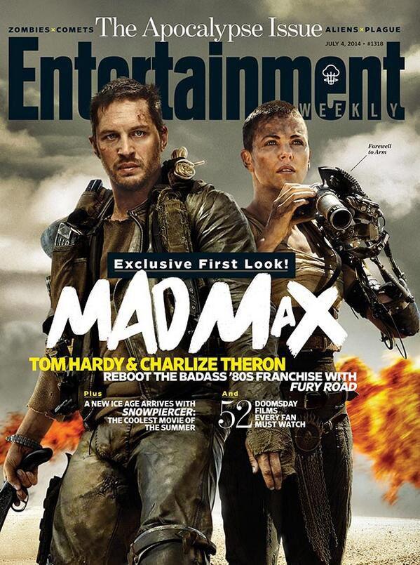 &quot&#x3B;MAD MAX FURY ROAD : 1ère COUVERTURE OFFICIELLE&quot&#x3B; !!!!