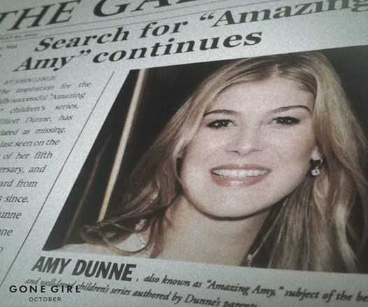 &quot&#x3B;Gone Girl&quot&#x3B;, une envie de changement !!!