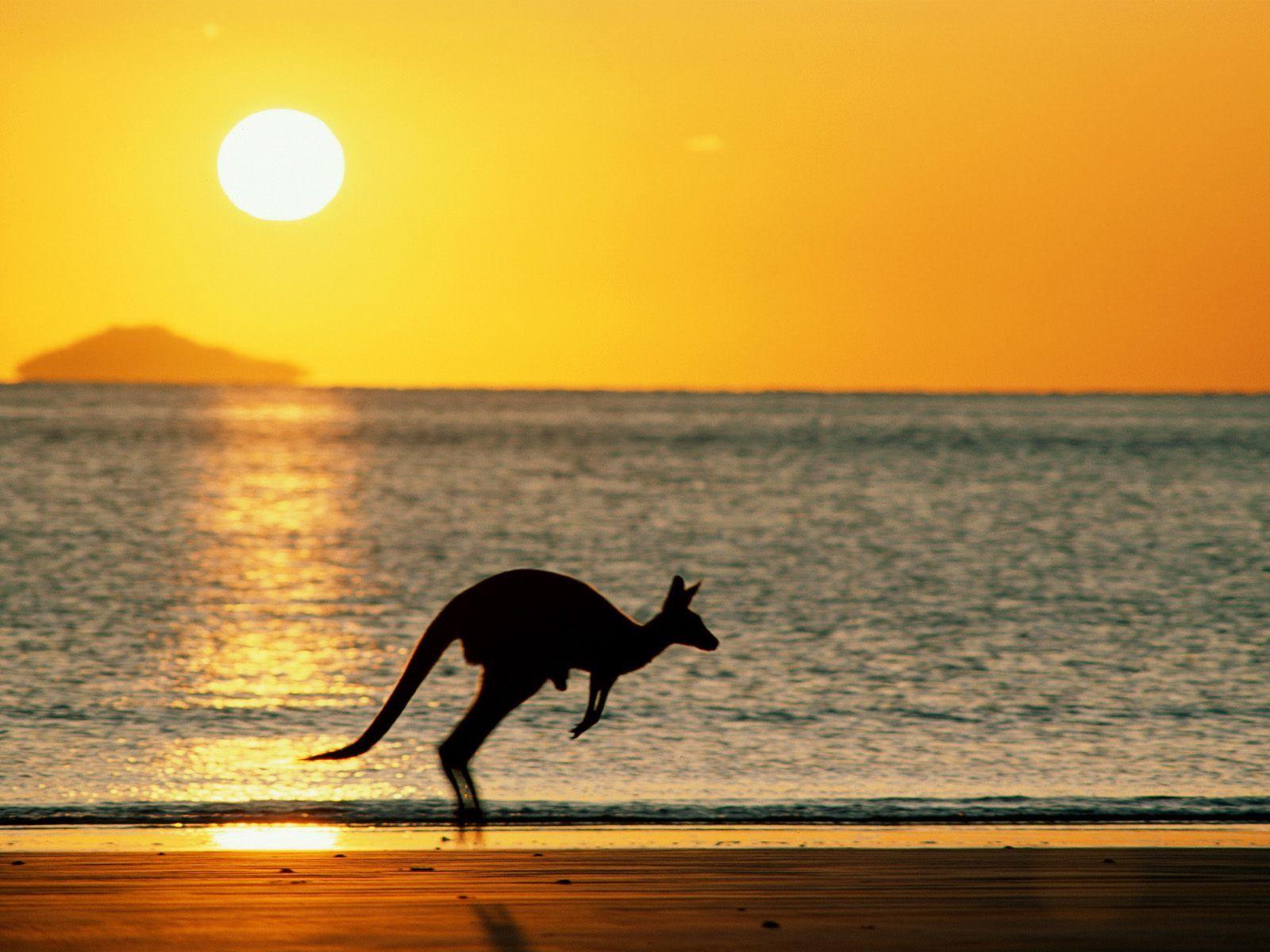 Couché de Soleil, Australie