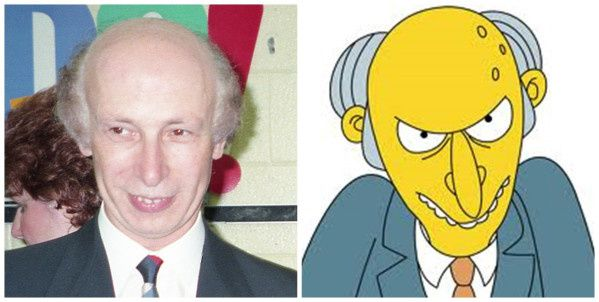 MONTGOMERY BURNS (LES SIMPSON)