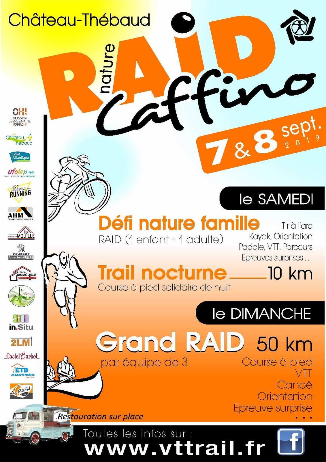 Calendrier Raid Multisport 2019.Raid Caffino 2019 Vttrail Chateau Thebaud