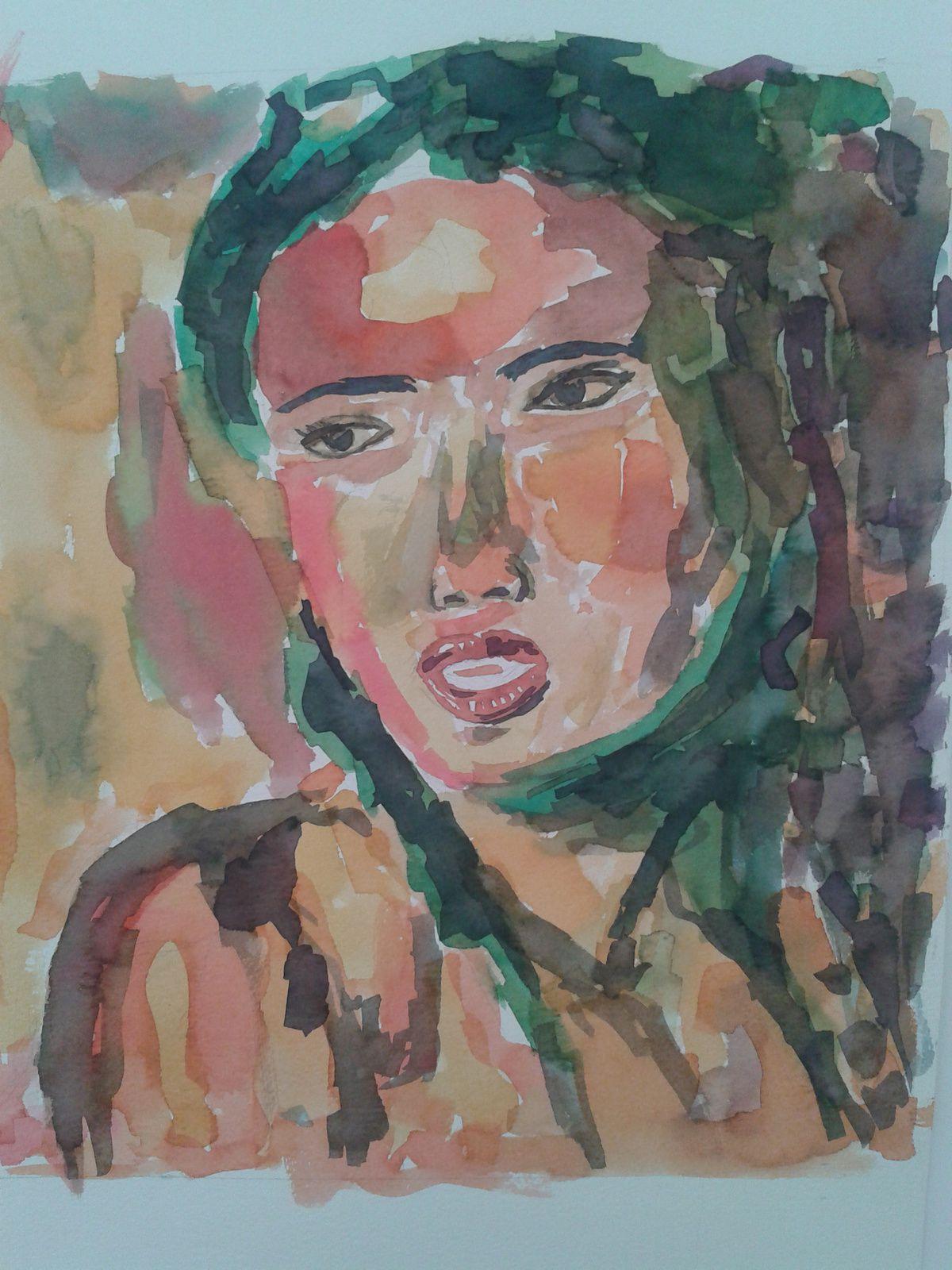 Peinture, acrylique, encre...