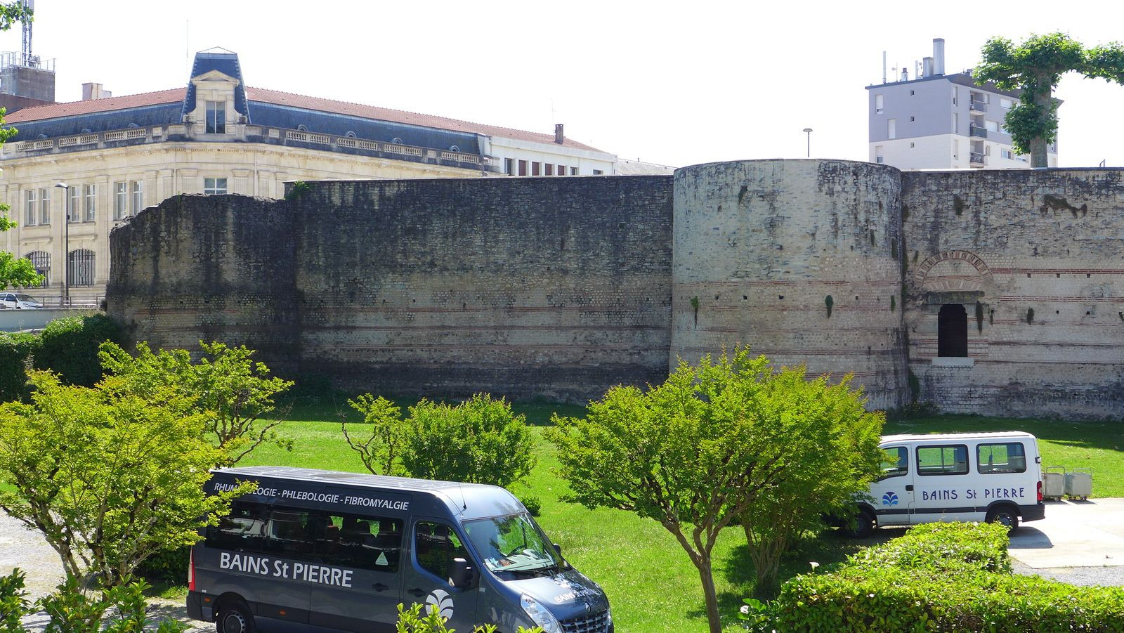 Les remparts Gallo- Romains