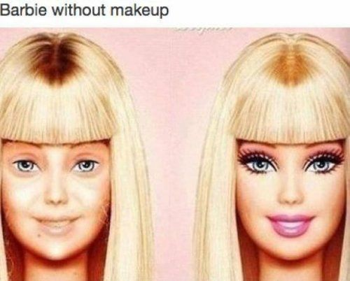 Make-up saved my life