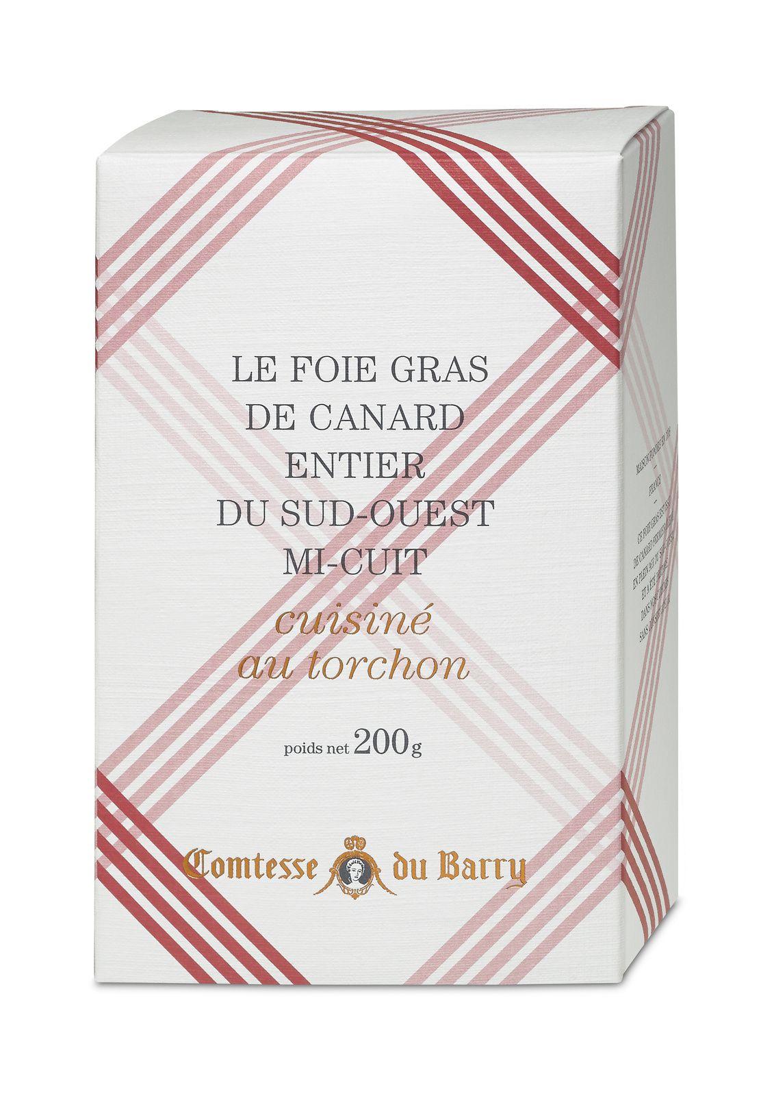 J'ai testé le foie gras de canard fermier cuisiné au torchon de Comtesse du Barry