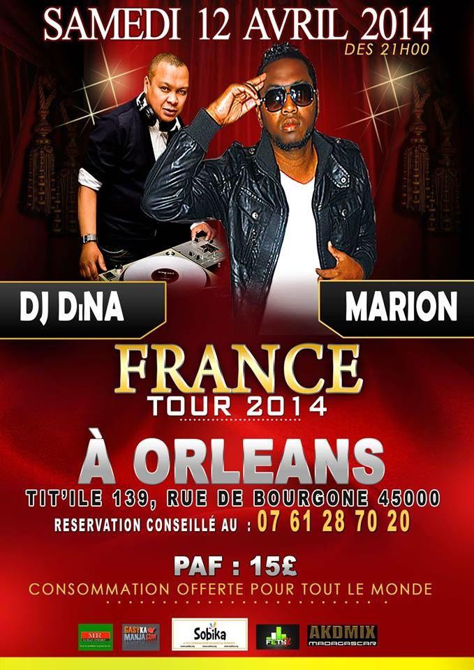 FRANCE TOUR 2014 à ORLEANS