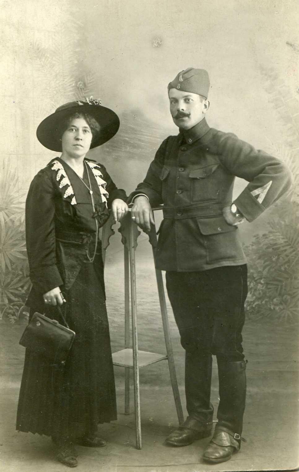 Alphonse et Eugénie Bogé (mes grands-parents)