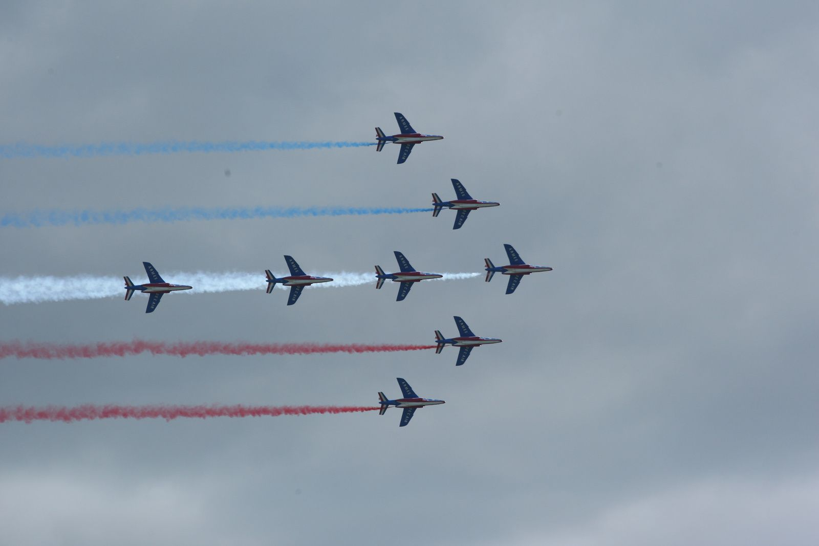 La patrouille de France (photo Loïc Legrand)