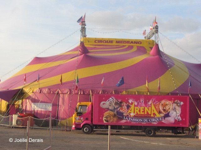 Au cirque Medrano avec le CCAS