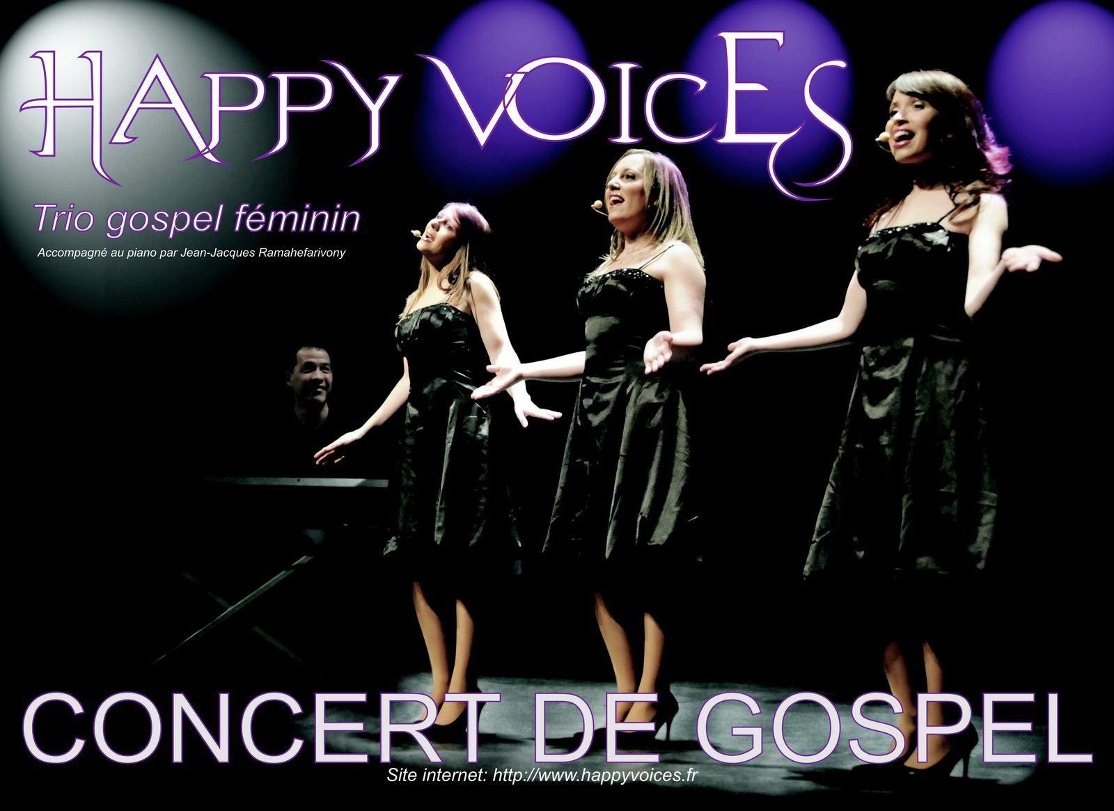HAPPY VOICES en concert à La Bazoche Gouet