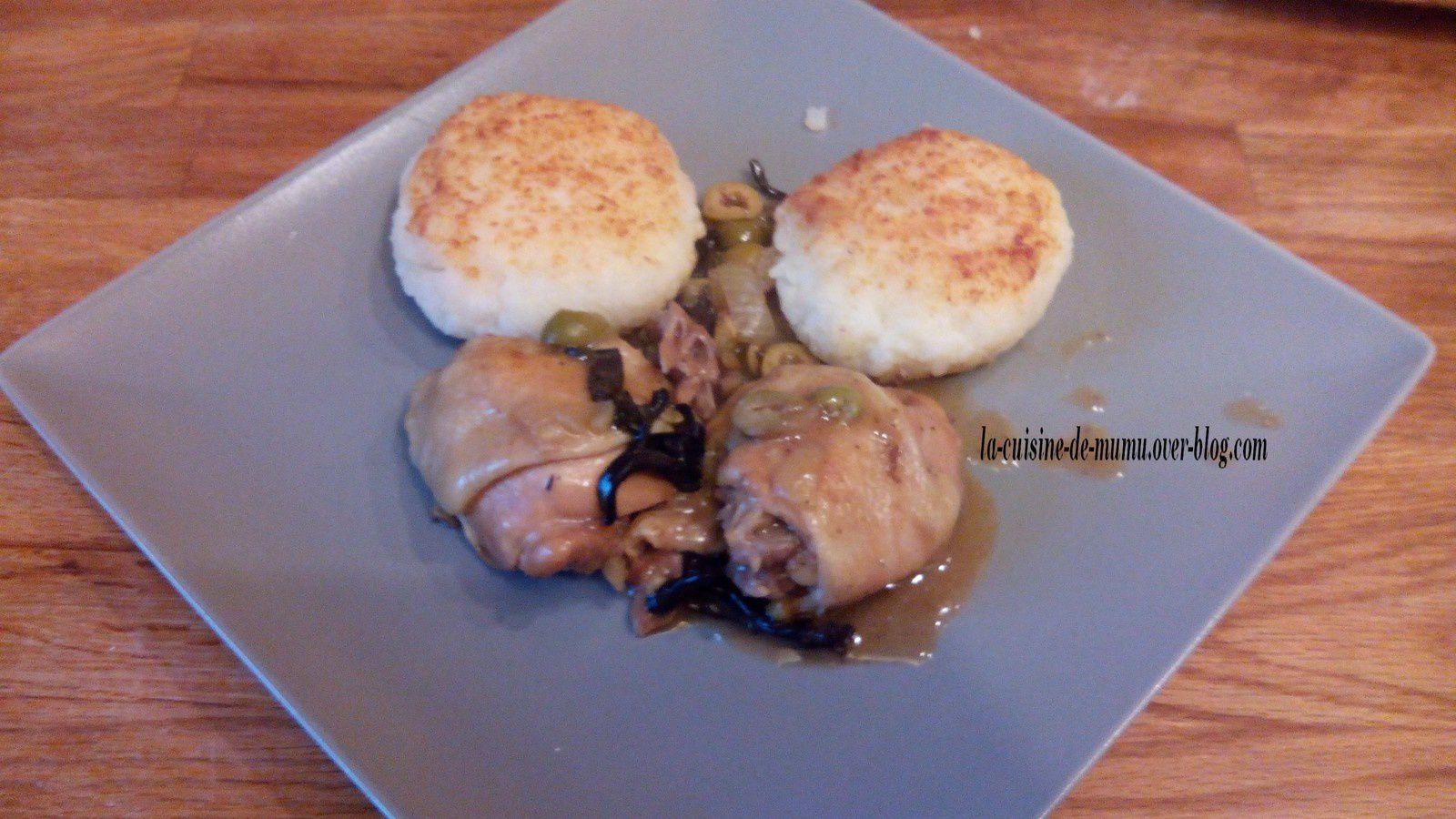 Les cuisses de poulet au vin blanc avec ses boulettes de riz la cuisine de - Cuisse de poulet au vin blanc ...
