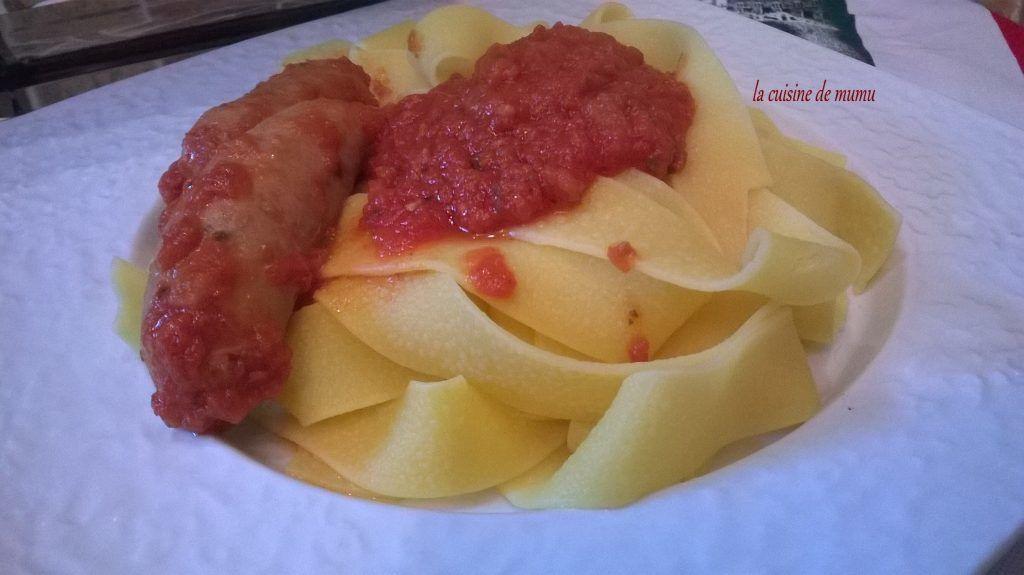 perugine en sauce tomate