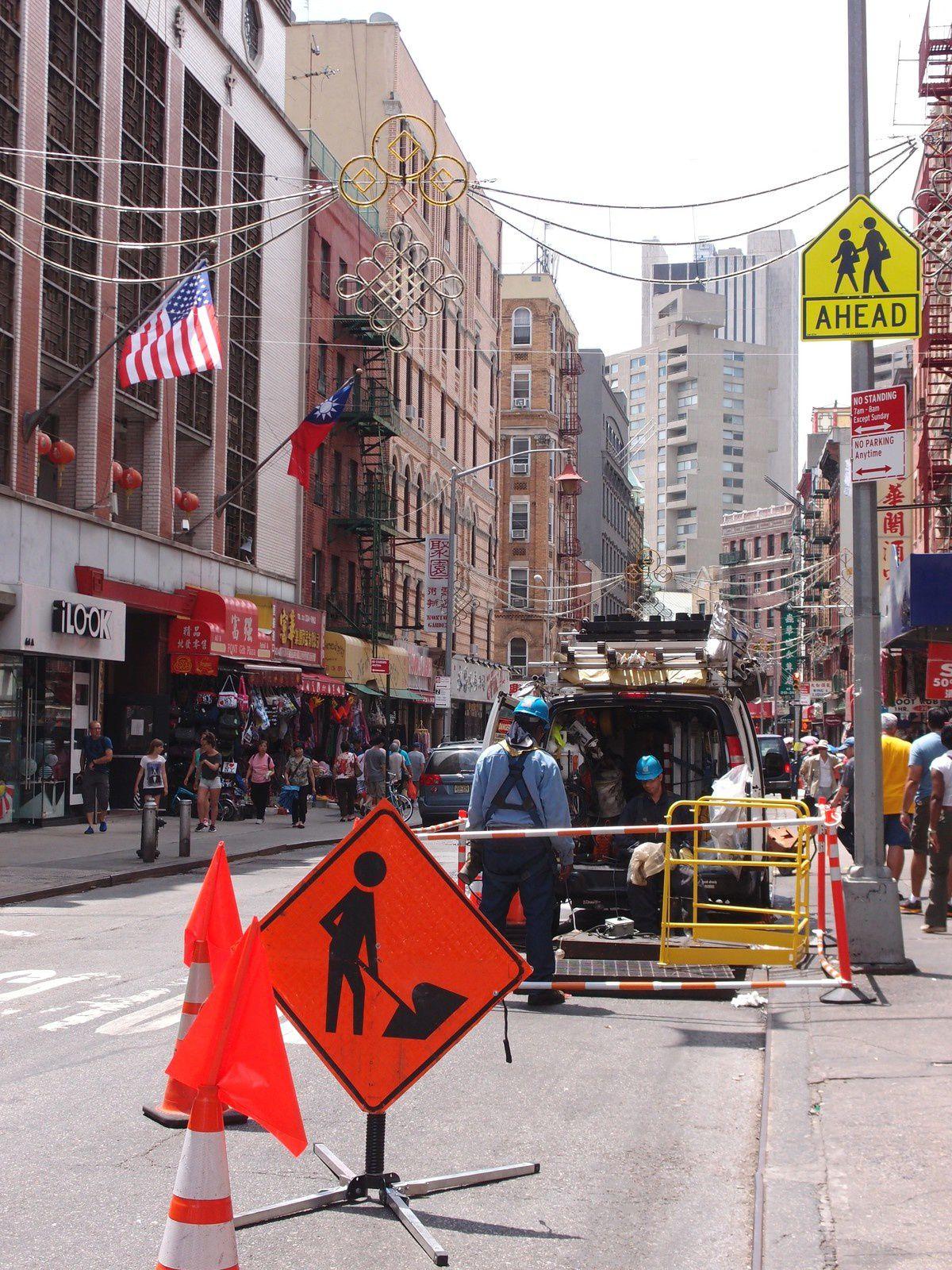 N.Y.C.: voilà que je tombe dans le panneau