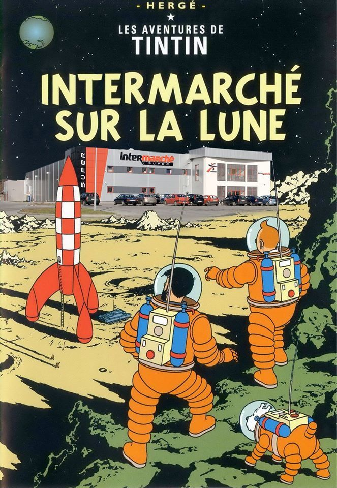 Tintin vu d'autres planètes
