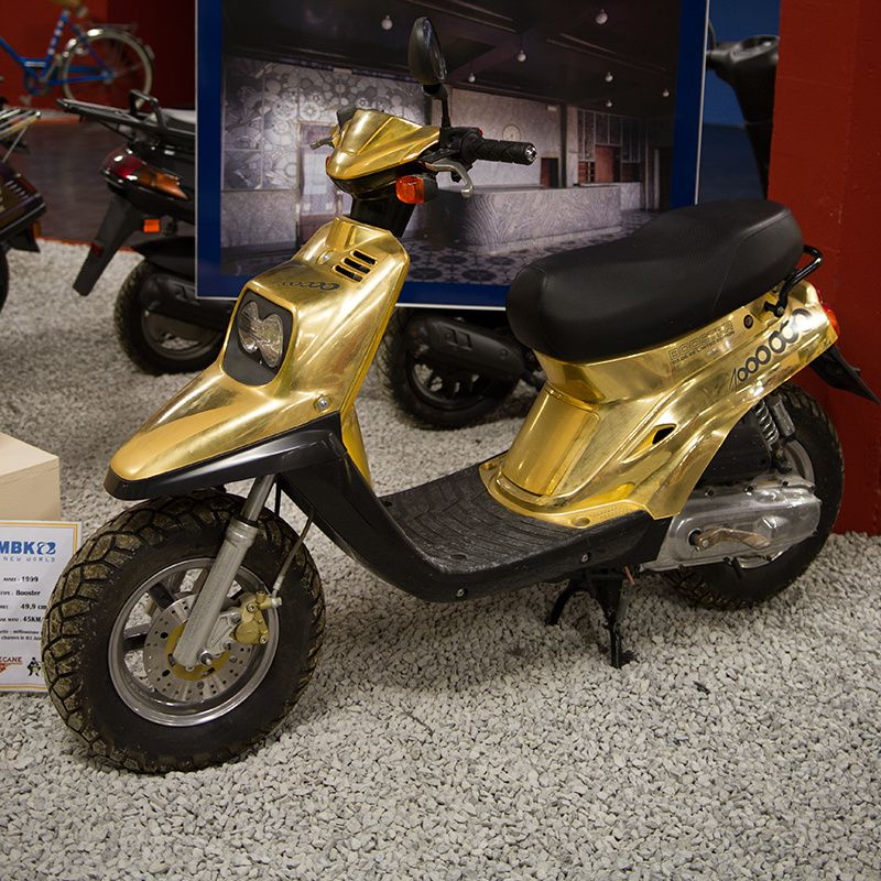 Le scoot en or
