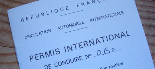 permis international ou pas .....
