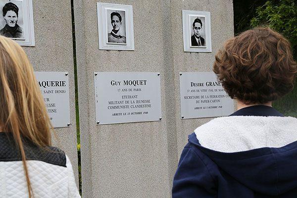 Devoir de mémoire : les guerres - discours d'ouverture 21/05/2015 (Véronique MAHE