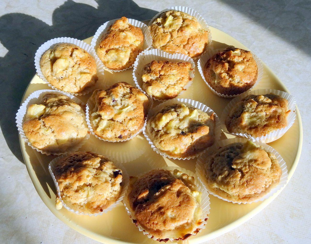 Muffins Pomme/Cannelle… La recette!!!!
