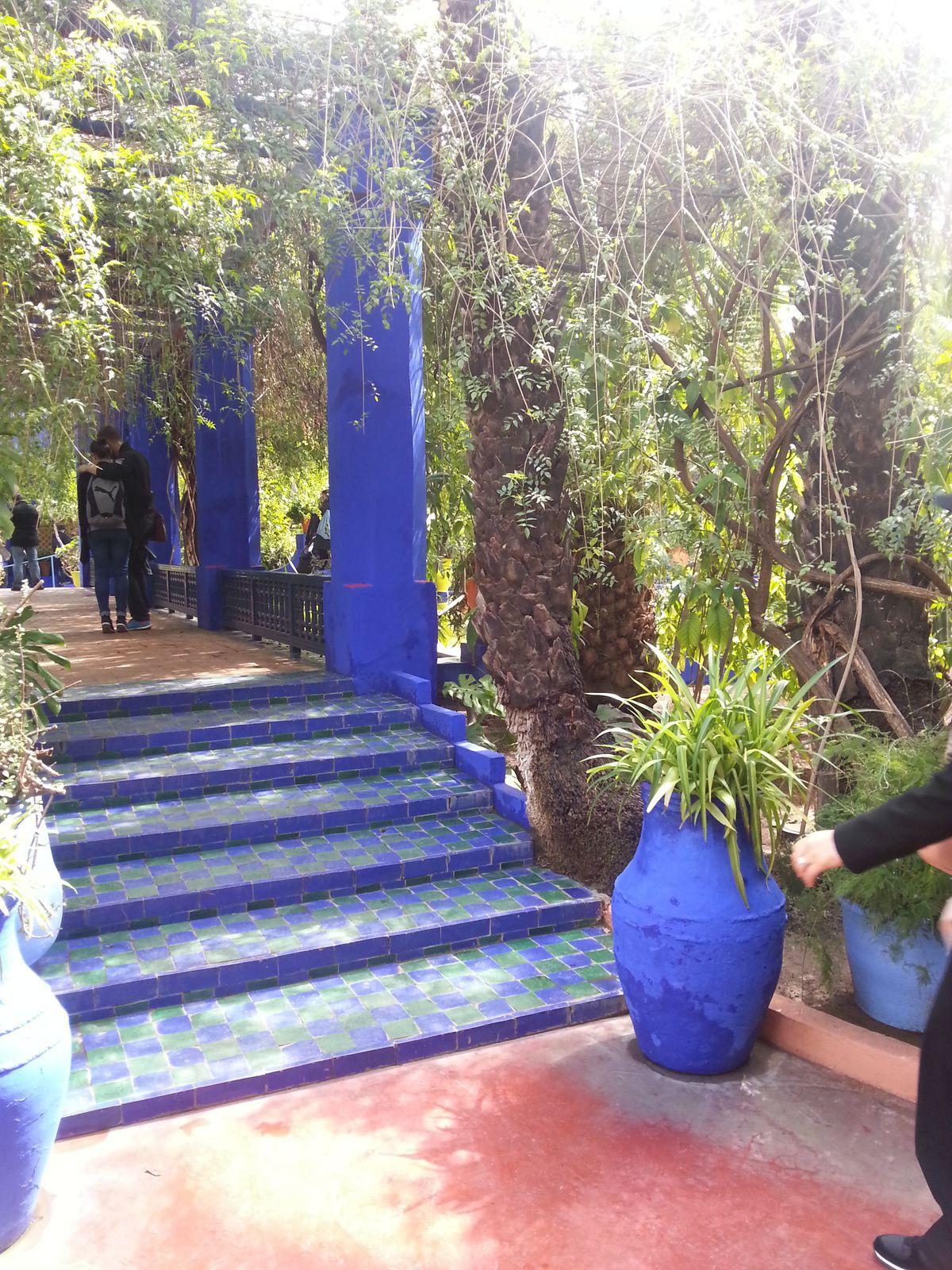 Les jardins majorelle