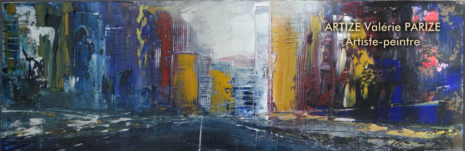 Panorama, huile sur toile, 30x90, prix 280 euros