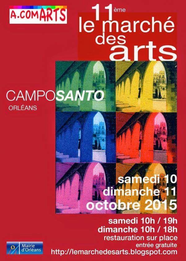 A. Com ART expo au Campo Santo d'Orléans