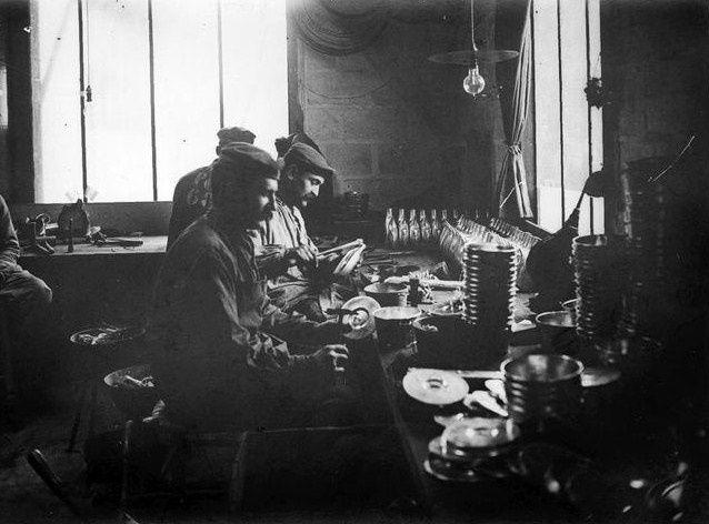 Vierzon pendant la première guerre mondiale, l'atelier Bertin-Merlin
