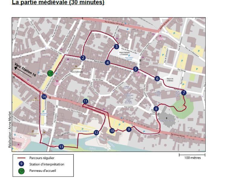 Un parcours balisé de l'histoire médiévale à l'histoire industrielle de Vierzon