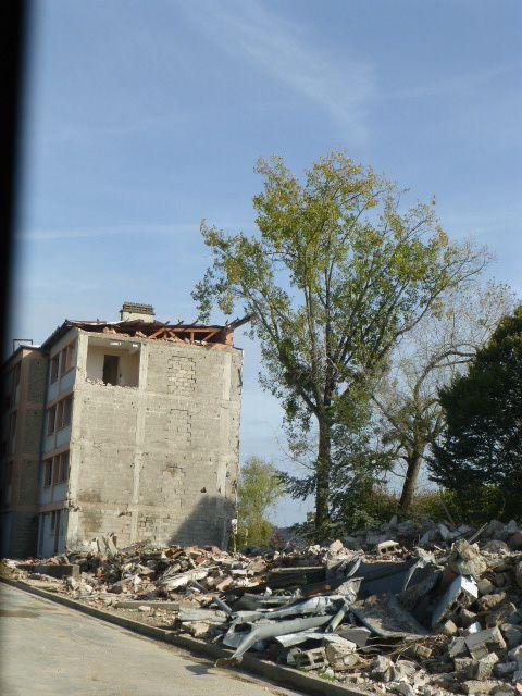 Il y a deux ans, la cité rue Mozart disparaissait