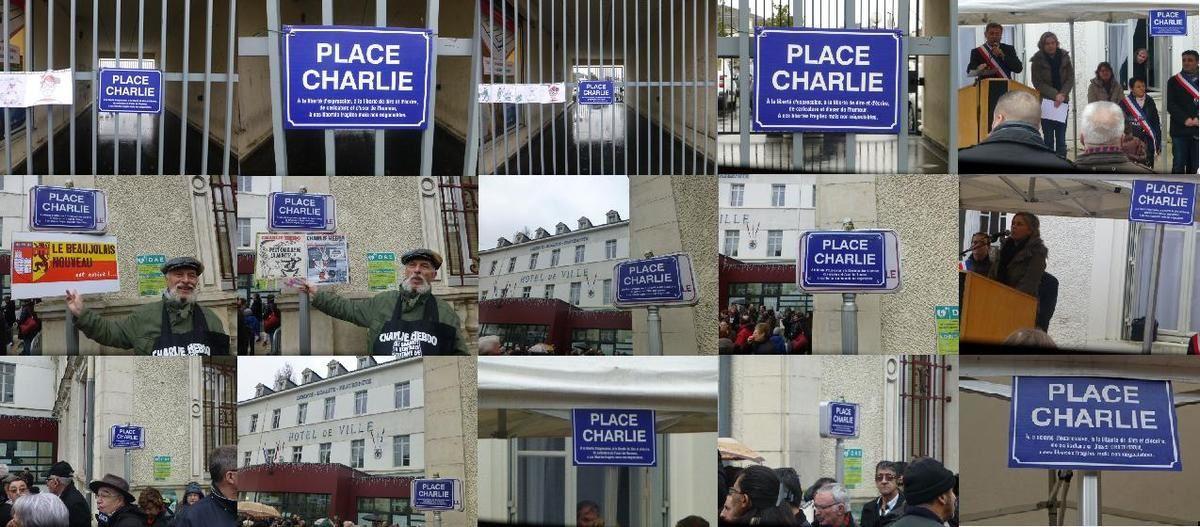 Des citoyens inaugurent le 23 mai à 11 heures une place Charlie à Vierzon