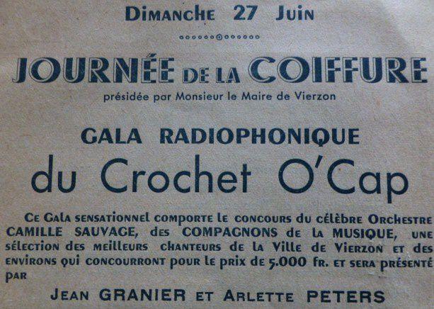 En 1948 déjà, Vierzon organisait une quinzaine commerciale...