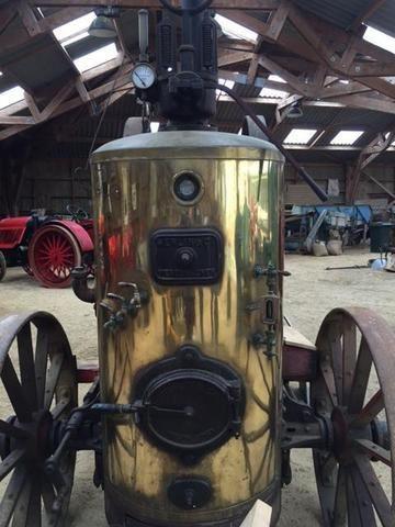 Une locomobile Merlin à vendre aux enchères dans le Finistère