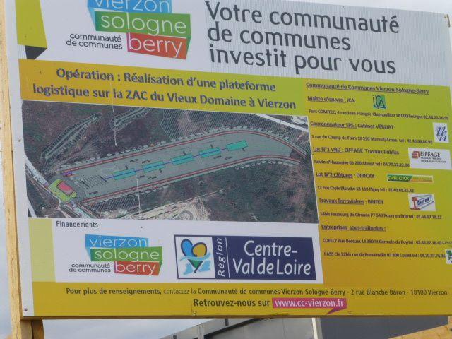 La plateforme du groupe Combronde au Vieux-Domaine sera inaugurée mardi 2 juin