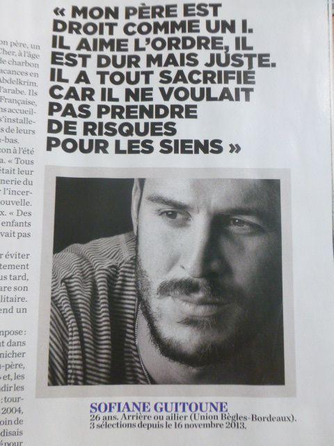 Illustration extraite du reportage de l'Equipe magazine du 15 aoûtt, pages 40 et 41.