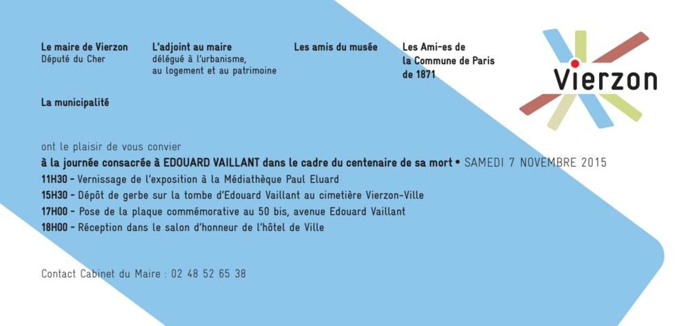 Edouard-Vaillant, candidat aux élections régionales