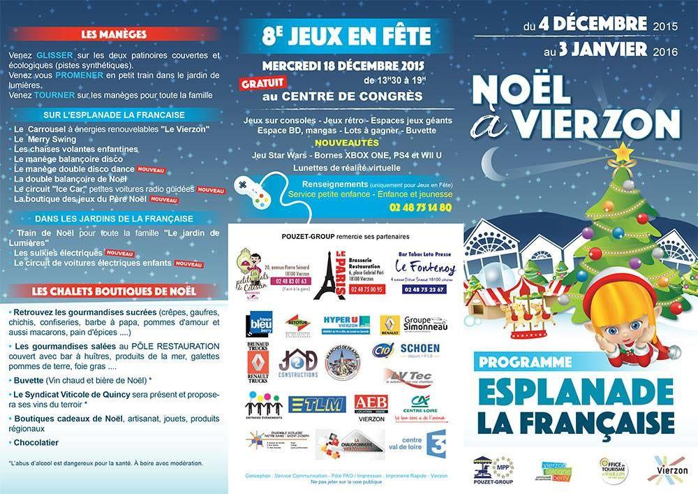 Noël à Vierzon : moins cher (75.000 euros) mais ouvert moins de jours