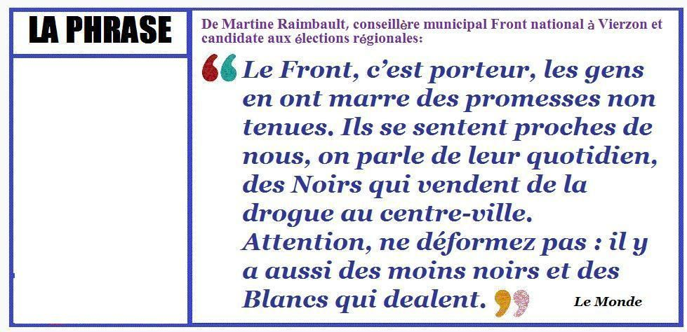 Les Zonzonitudes anti-Front national