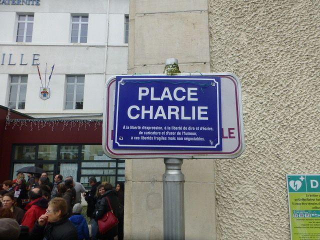 Le 7 janvier, et toujours pas de place Charlie à Vierzon