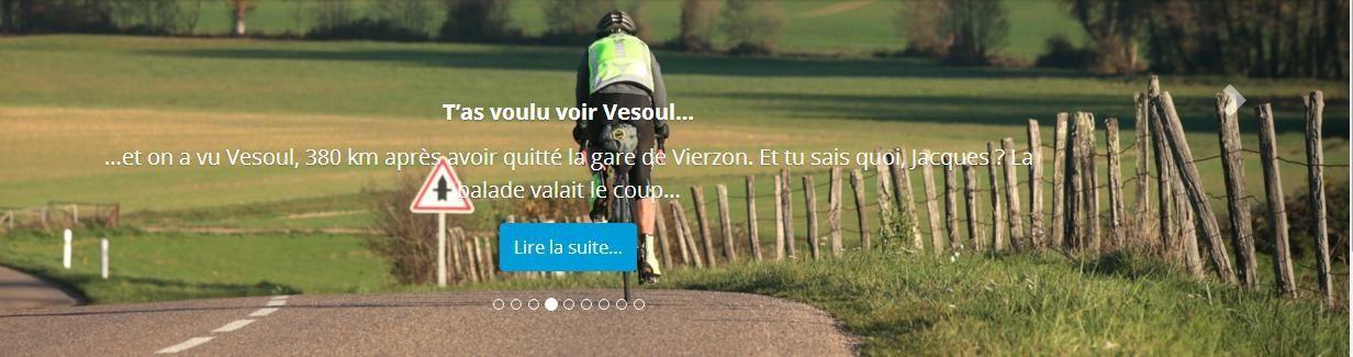 Vierzon-Vesoul en B'Twin !