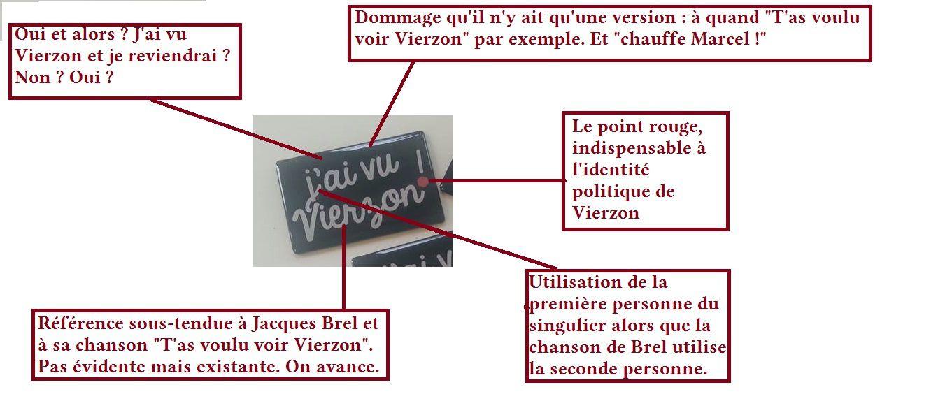 Un magnet en référence à Jacques Brel enfin disponible à l'office de tourisme de Vierzon !