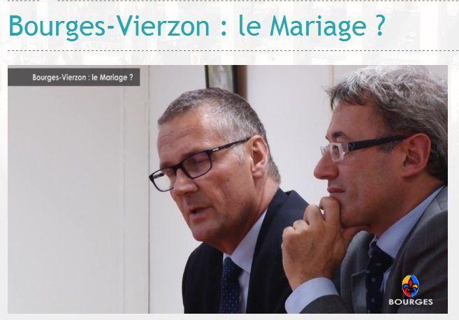 Le divorce de Bourges et Vierzon avant le mariage
