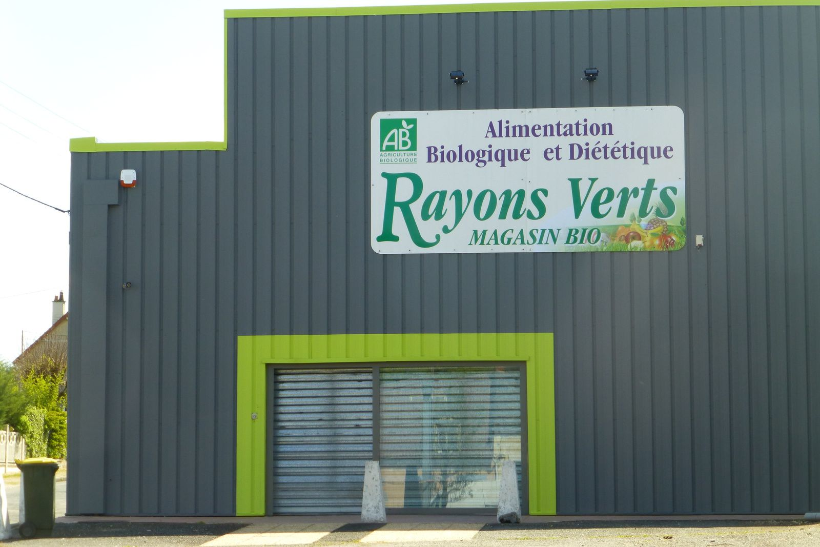 Le magasin Rayons verts s'installe avenue du 14 juillet