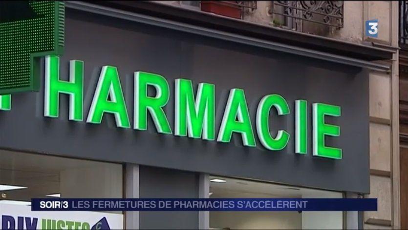 Une pharmacie disparait tous les deux jours, Vierzon n'y échappe pas