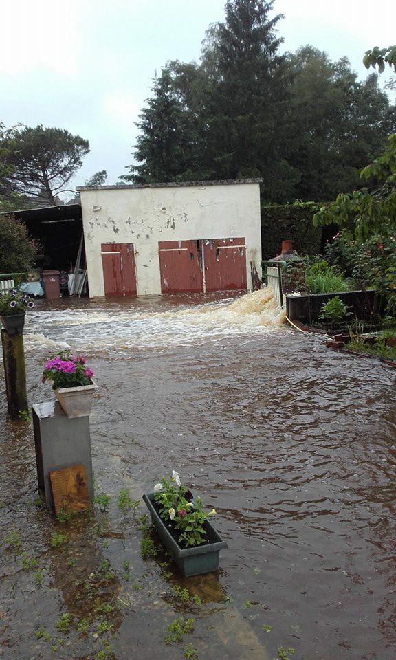Il y a un an, à Vierzon, l'eau s'invitait à domicile