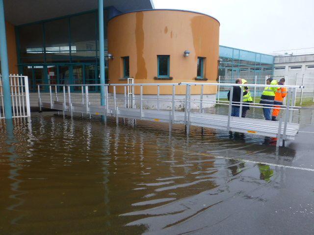 Il y a un an, les photos des inondations à Vierzon