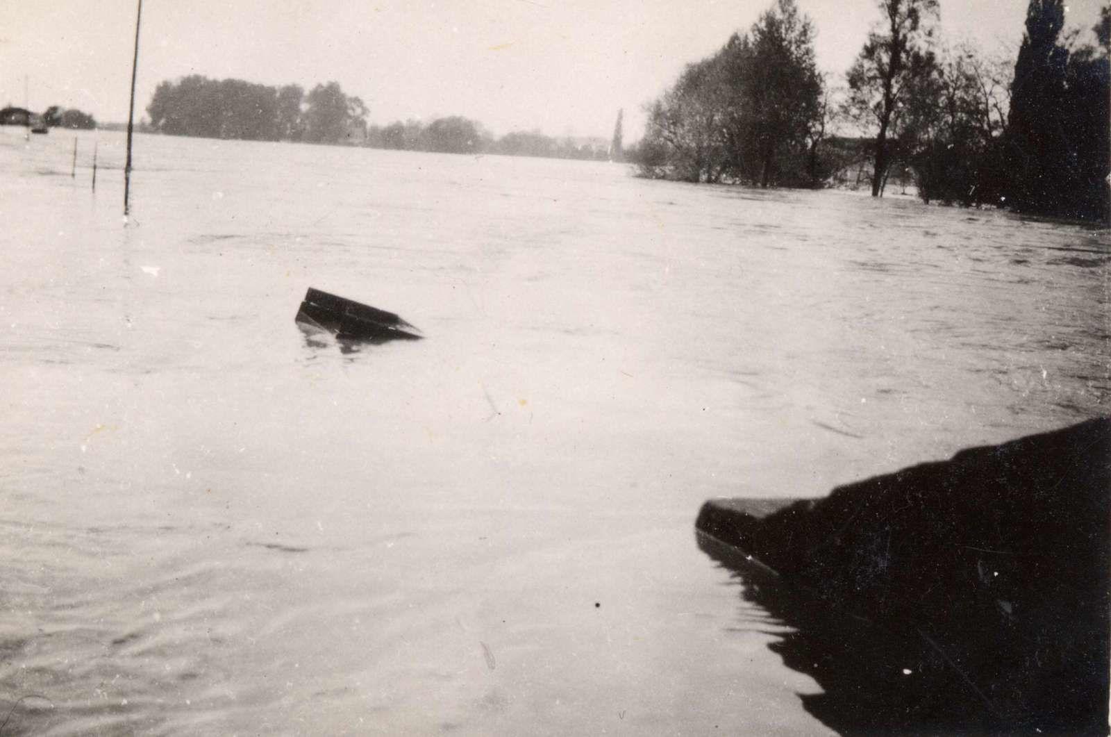 Vierzon sous les eaux, il y a eu pire qu'aujourd'hui !