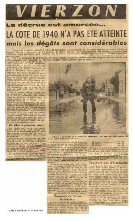 Quand les élus de Vierzon bataillaient contre le plan de prévention des risques d'inondation
